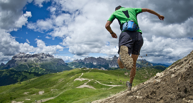 correr en montaña